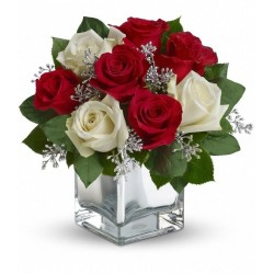 rosas en tu mesa